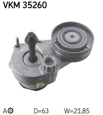 SKF Spannrolle, Keilrippenriemen VKM 35260