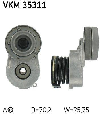 Acheter Galet tendeur courroie accessoire Ø: 70,2mm, Largeur: 25,8mm SKF VKM 35311 à tout moment