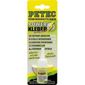 Osta 93410 PETEC GmbH Kaal: 10g värvitu, silikoonivaba Kiirliim 93410 madala hinnaga