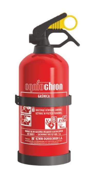 GP1Z BC 1KG/W OGNIOCHRON 2kg, Pulver, 1kg, Zeitbereich: 6 sek Feuerlöscher GP1Z BC 1KG/W günstig kaufen