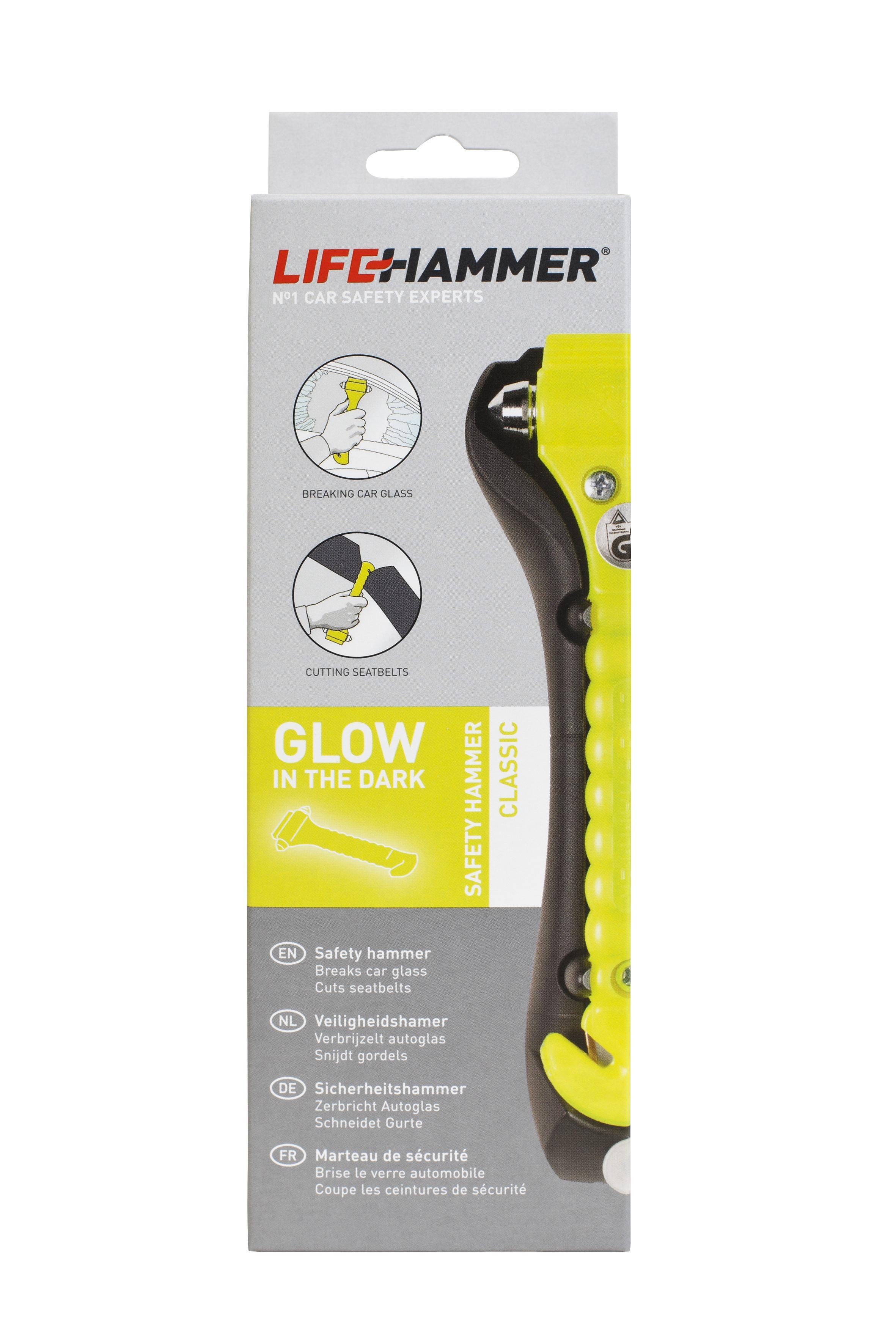 HCGY1RNDBX Notfallhammer LifeHammer in Original Qualität