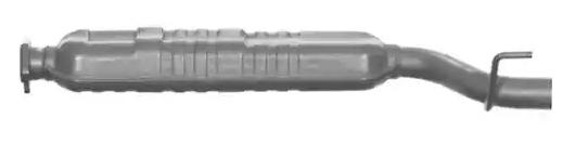 VEGAZ Mittelschalldämpfer MS-302IMA