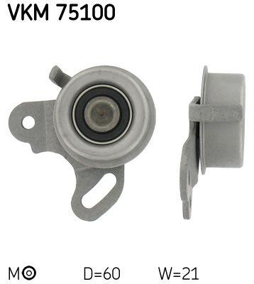 VKM 75100 SKF Spannrolle, Zahnriemen VKM 75100 günstig kaufen