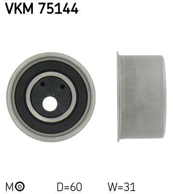 VKM 75144 SKF Spannrolle, Zahnriemen VKM 75144 günstig kaufen