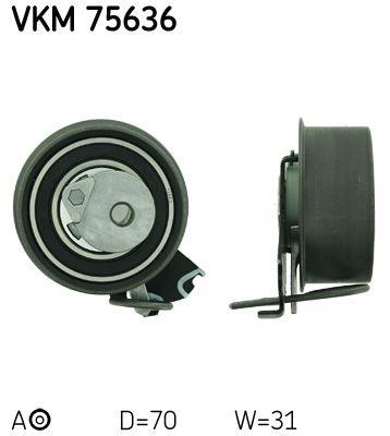 VKM 75636 SKF Spannrolle, Zahnriemen VKM 75636 günstig kaufen