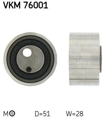 VKM 76001 SKF Spannrolle, Zahnriemen VKM 76001 günstig kaufen