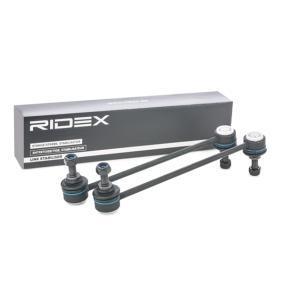 2067R0008 RIDEX framaxel vänster, framaxel höger Reparationssats, stabilisatorkopplingsstång 2067R0008 köp lågt pris