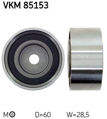SKF Umlenkrolle Zahnriemen VKM 85153