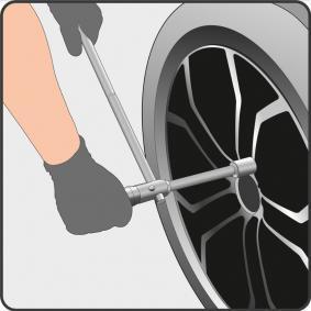 YT-08035 Llave para tuercas de ruedas YATO calidad original