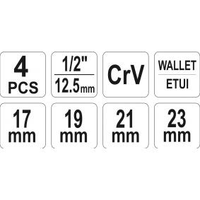 YT-08035 Llave para tuercas de ruedas YATO Test