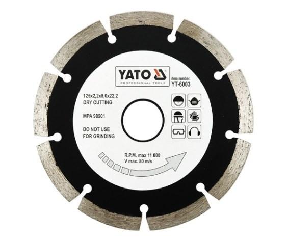 YT-6003 YATO Dicke/Stärke: 2,2mm Trennscheibe, Winkelschleifer YT-6003 günstig kaufen