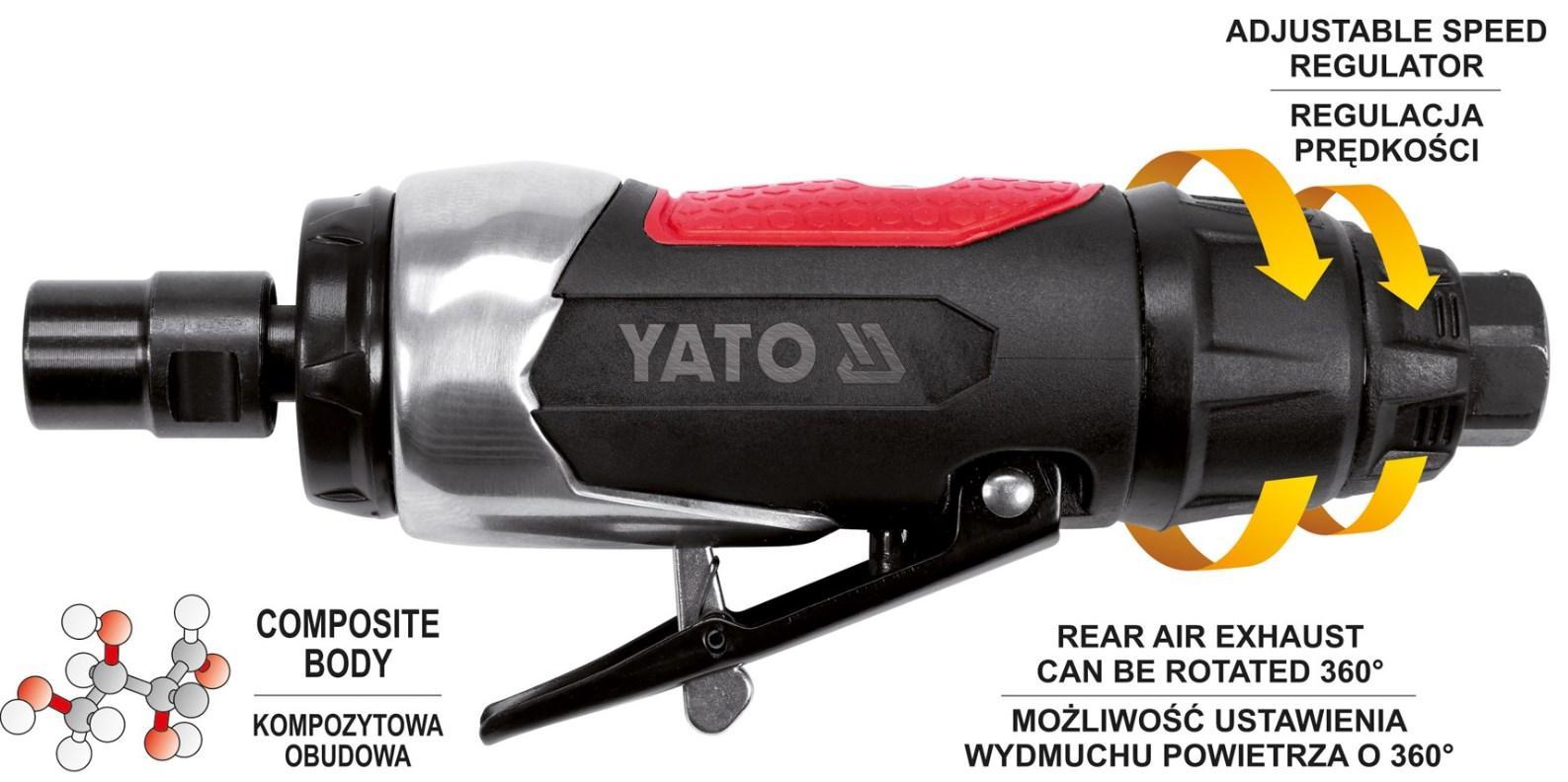 YT-09632 Stabschleifer YATO Erfahrung