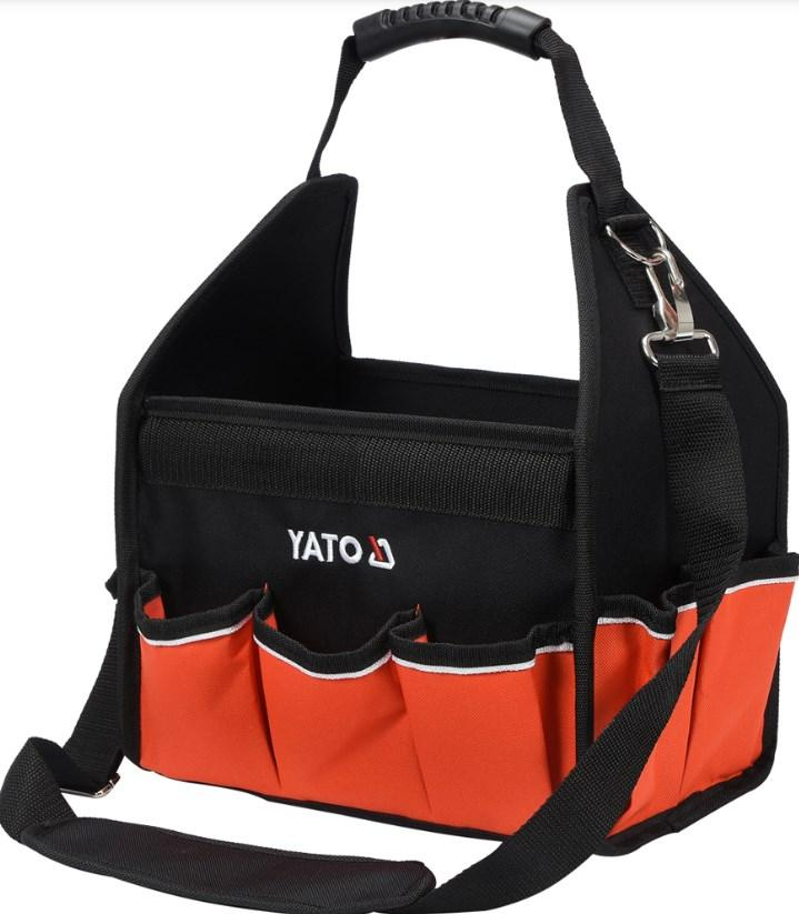 Ostaa YT-74370 YATO Polyesteri Pituus: 30cm, Leveys: 29cm, Korkeus: 19cm Laukku YT-74370 edullisesti