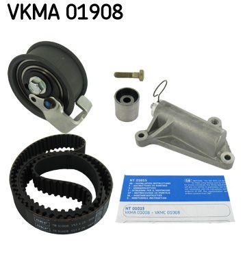 Köp SKF VKMA 01908 - Remmar, kedjor, rullar till Volkswagen: Kuggar: 153