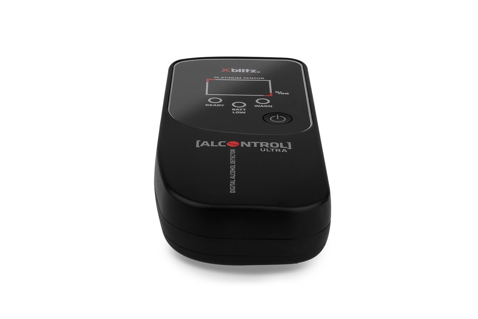 AlcontrolUltra Alkometri XBLITZ Alcontrol Ultra - Laaja valikoima — Paljon alennuksia