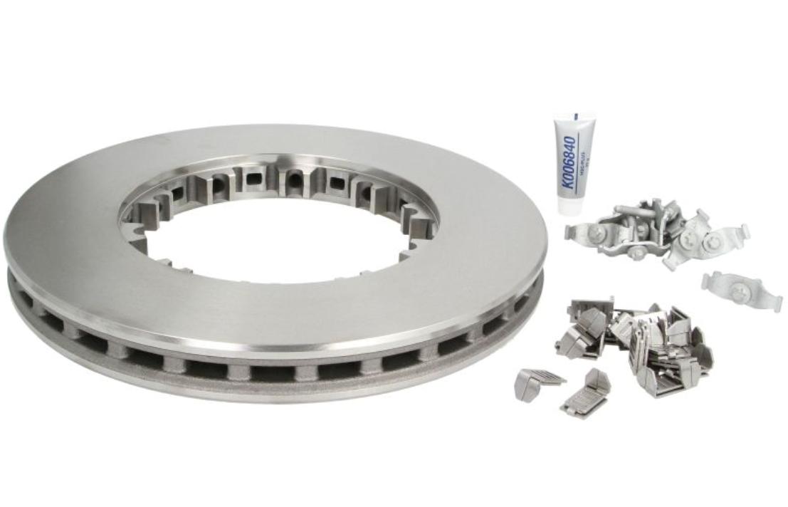 K034249K50 KNORR-BREMSE Bremsscheibe für DAF billiger kaufen