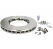 KNORR-BREMSE Bremsscheibe für DAF - Artikelnummer: K034249K50