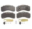 K035471K50 KNORR-BREMSE Bromsbeläggssats, skivbroms till MERCEDES-BENZ ECONIC 2 - köp dem nu
