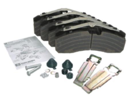 KNORR-BREMSE Bremsbelagsatz, Scheibenbremse für DENNIS - Artikelnummer: K046771K50