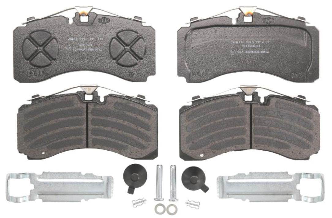 Bremsbelagsatz KNORR-BREMSE K097533K50