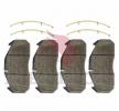 Kit pastiglie freno, Freno a disco MERITOR MDP5065 per DAF: acquisti online