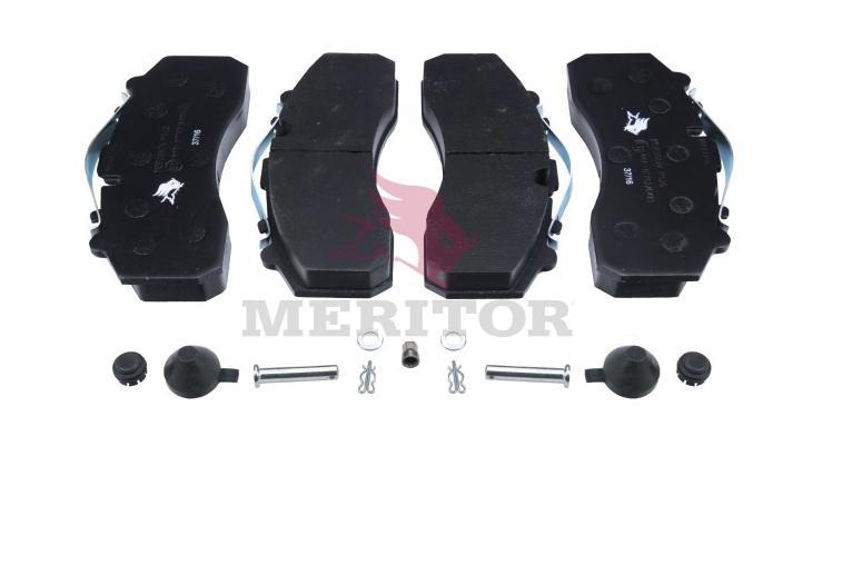 MERITOR Bremsbelagsatz, Scheibenbremse für DENNIS - Artikelnummer: MDP3087K