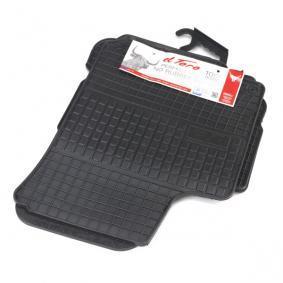 0012 FROGUM Maßgefertigt Gummi, vorne und hinten, Menge: 4, schwarz Autofußmatten 0012 günstig kaufen