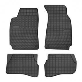0396 FROGUM Maßgefertigt Gummi, vorne und hinten, Menge: 4, schwarz Autofußmatten 0396 günstig kaufen