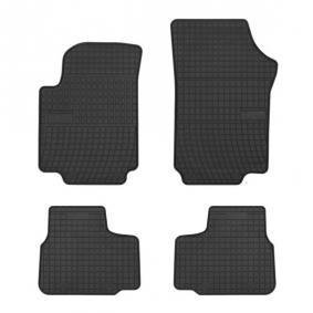 0399 FROGUM Maßgefertigt Gummi, vorne und hinten, Menge: 4, schwarz Autofußmatten 0399 günstig kaufen