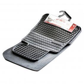0660 FROGUM Maßgefertigt Gummi, vorne und hinten, Menge: 4, schwarz Autofußmatten 0660 günstig kaufen