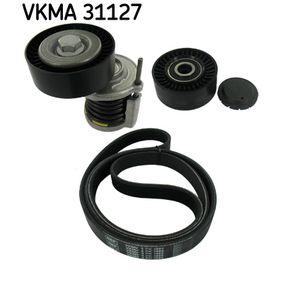 VKMA 31127 Komplet rebrastega jermena SKF originalni kvalitetni