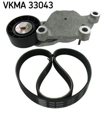 SKF: Original Keilrippenriemensatz VKMA 33043 (Länge: 976mm, Rippenanzahl: 6)