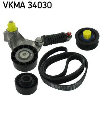 Keilrippenriemensatz VKMA 34030 Jaguar XF 2014