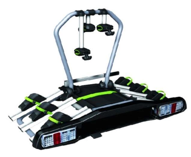 X CARRIER PLATFORM A3 MAMMOOTH Dispositivo de reboque, 15kg Porta-bicicleta traseira X CARRIER PLATFORM A3 comprar económica