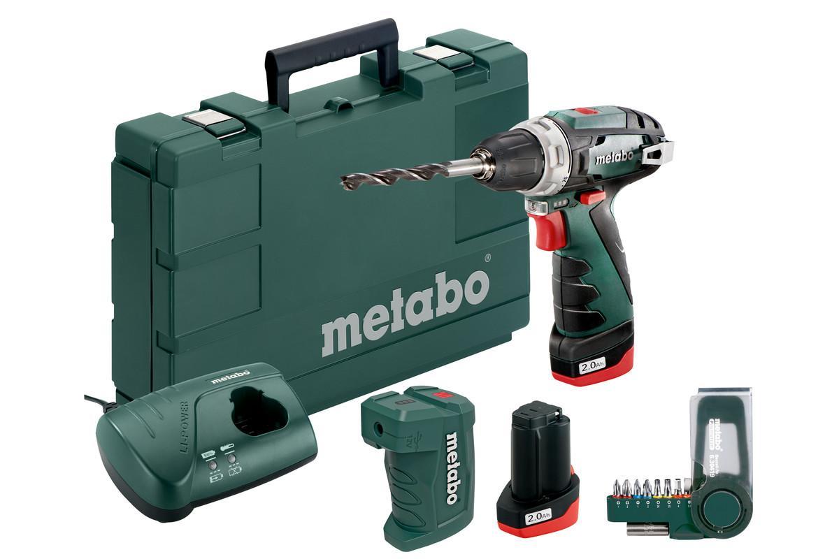 600080910 METABO Spannbereich Bohrfutter von: 1mm, Spannbereich Bohrfutter bis: 10mm Akkuschrauber 600080910 günstig kaufen