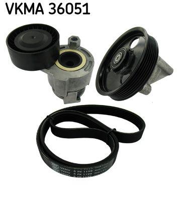 VKMV6PK1199 SKF Rippenanzahl: 6 Keilrippenriemensatz VKMA 36051 günstig kaufen