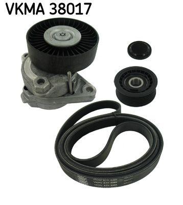 SKF: Original Keilrippenriemensatz VKMA 38017 (Länge: 2390mm, Rippenanzahl: 6)