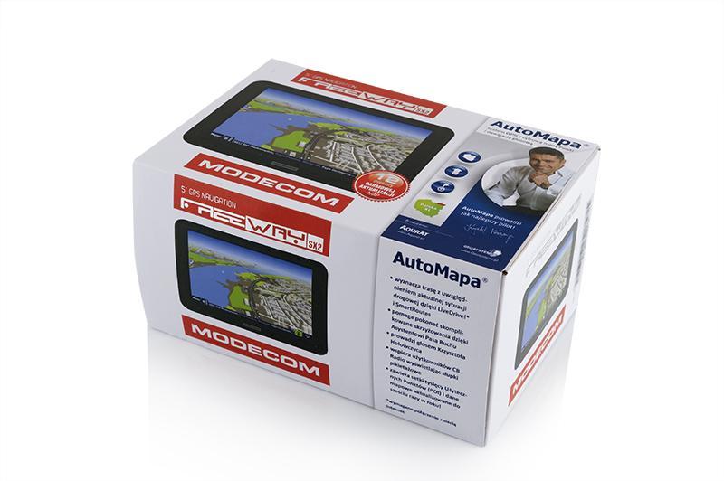 FREEWAY SX2 EU Navigationssystem MODECOM in Original Qualität