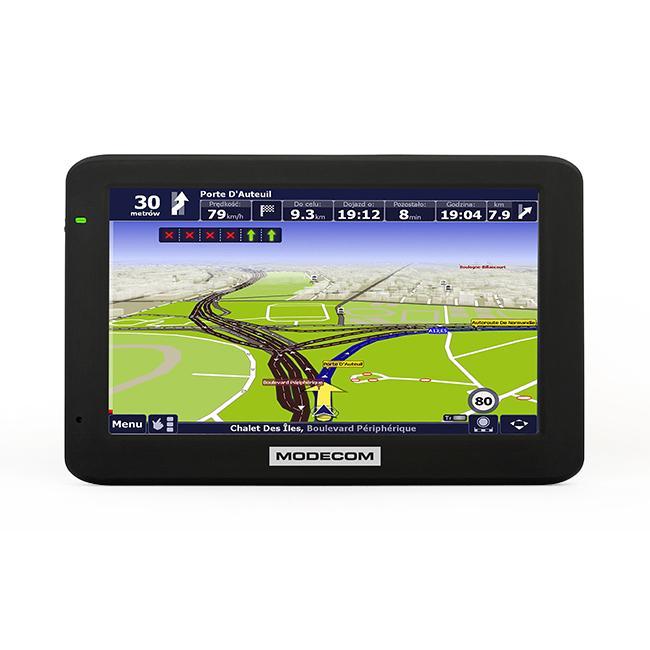FREEWAYMX4HD Navigační systém MODECOM FREEWAY MX4 HD - Obrovský výběr — ještě větší slevy