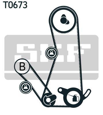 SKF   Zahnriemensatz VKMA 95015