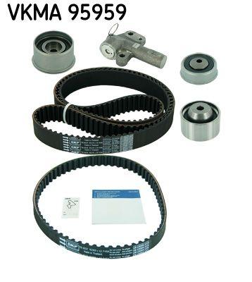 VKMT956592 SKF Zähnezahl 1: 65, mit Spanndämpfer, Spannrolle Zahnriemensatz VKMA 95959 günstig kaufen