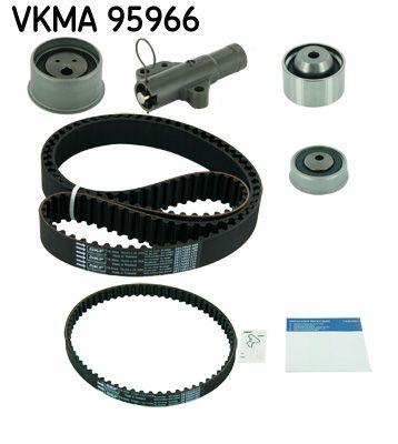 VKMT956662 SKF Zähnezahl 1: 153, mit Spanndämpfer, Spannrolle Zahnriemensatz VKMA 95966 günstig kaufen