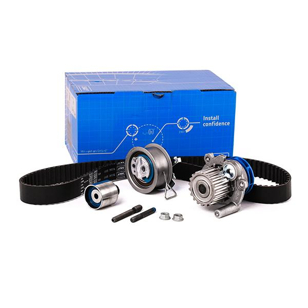 VW CADDY 2011 replacement parts: Water pump and timing belt kit SKF VKMC 01250-1 at a discount — buy now!