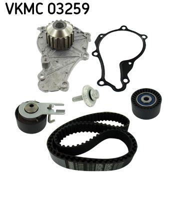 Pompa acqua + Kit cinghie dentate VKMC 03259 di SKF