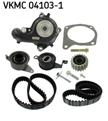 SKF | Wasserpumpe + Zahnriemensatz VKMC 04103-1