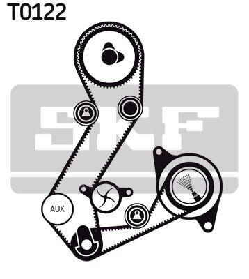 SKF   Wasserpumpe + Zahnriemensatz VKMC 04103-3