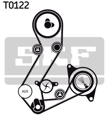 VKPC84620 SKF Wasserpumpe + Zahnriemensatz VKMC 04106-1 günstig kaufen