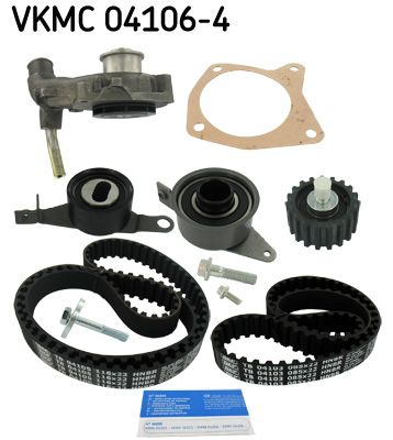 SKF | Wasserpumpe + Zahnriemensatz VKMC 04106-4