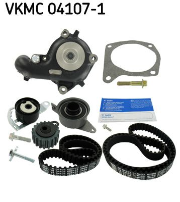 SKF | Wasserpumpe + Zahnriemensatz VKMC 04107-1