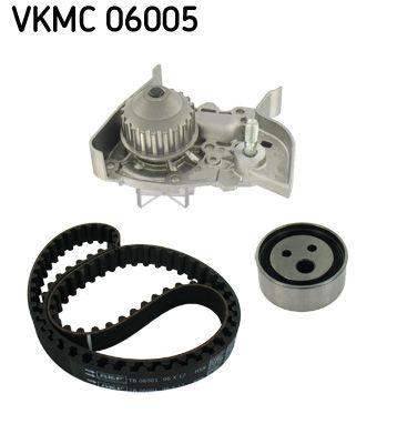 Originali Pompa acqua + kit cinghie dentate VKMC 06005 Renault